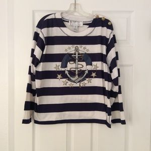 Sweaters - Golden Touch | Nautical Anchor Sweater